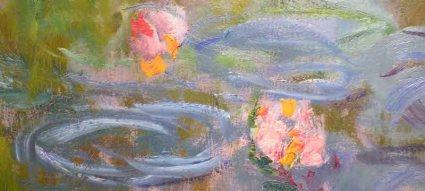 Claude Monet, Waterlilies, 1914-15 (Portland Art Museum)