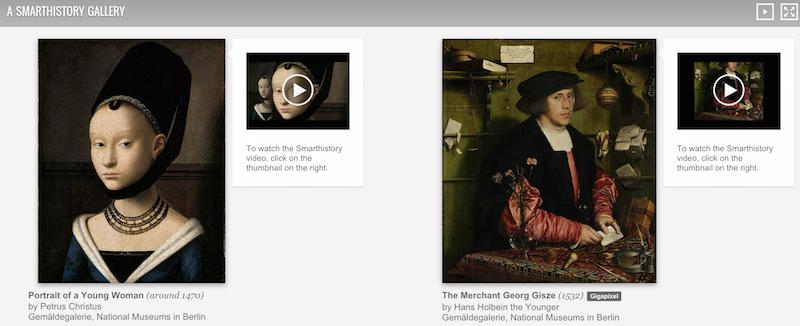 Google Art Project Smarthistory gallery