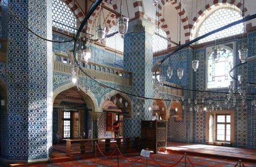 Mimar Sinan, Rüstem Pasha Mosque, 1561-63 (Istanbul)