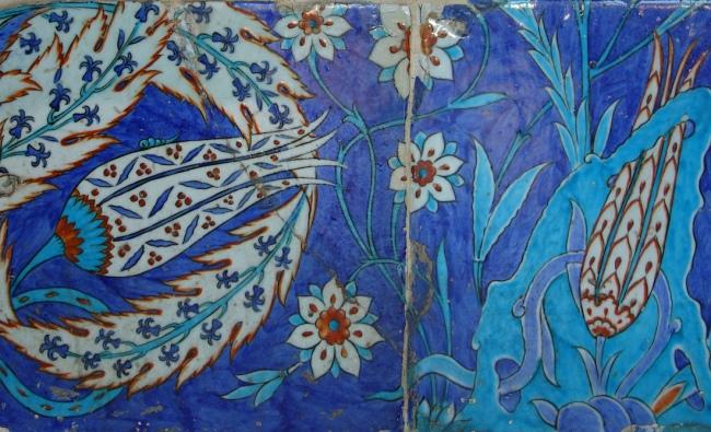 Exterior tiles, Mimar Sinan, Rüstem Pasha Mosque