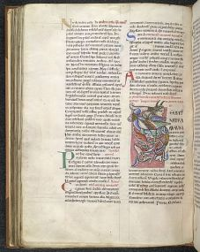 Pliny the Elder, Caius Suetonius Tranquillus, and others, Vita Plinii, epistola 11; Historia naturalis (books 1-18), imperfect England, S.; 2nd or 3rd quarter of the 12th century (Arundel 98, British Library, f. 85v)