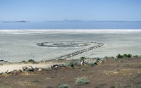 Robert Smithson, Spiral Jetty, 1970, Great Salt Lake, Utah