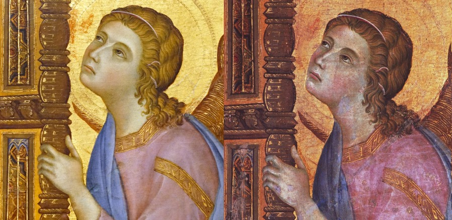 Comparison of Duccio images
